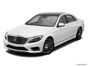 2015 Mercedes-Benz S-Class Front angle view