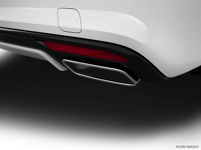 2015 Mercedes-Benz S-Class Chrome tip exhaust pipe