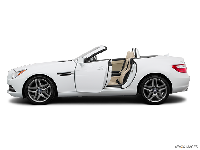 2015 Mercedes-Benz SLK Driver's side profile with drivers side door open