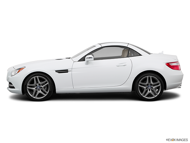 2015 Mercedes-Benz SLK Drivers side profile, convertible top up (convertibles only)