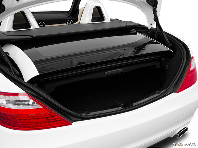 2015 Mercedes-Benz SLK Trunk open