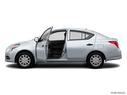 2015 Nissan Versa Driver's side profile with drivers side door open