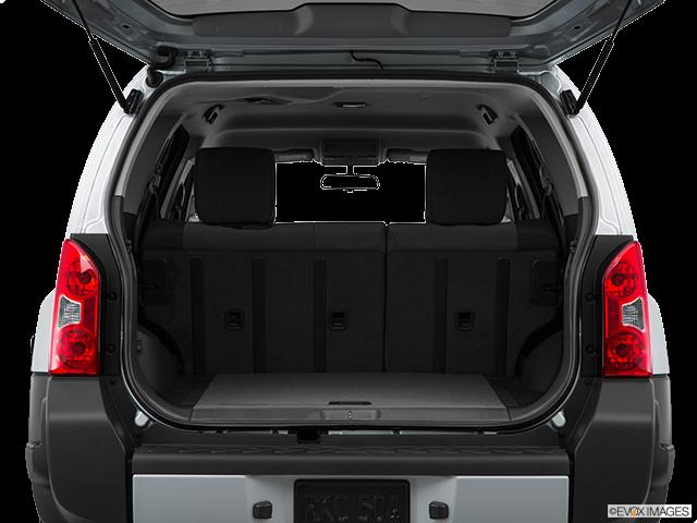 2015 Nissan Xterra Trunk open