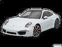 2015 Porsche 911 Front angle view