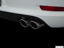 2015 Porsche 911 Chrome tip exhaust pipe