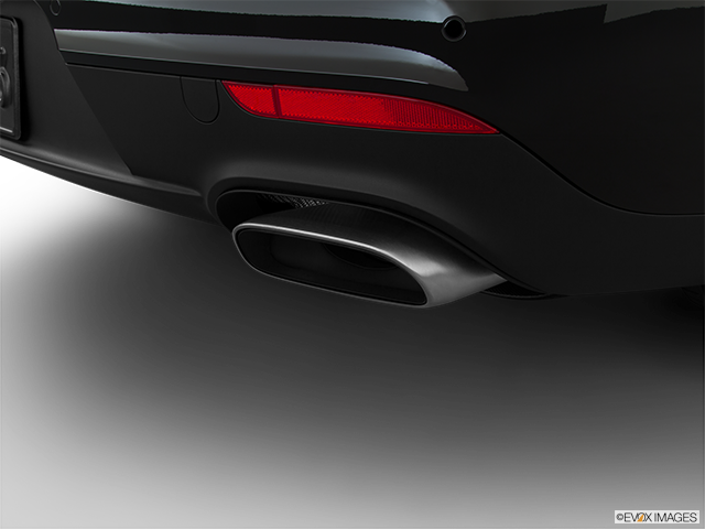 2015 Porsche Panamera Chrome tip exhaust pipe