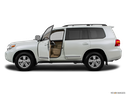 2015 Toyota Land Cruiser Driver's side profile with drivers side door open