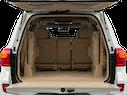 2015 Toyota Land Cruiser Trunk open
