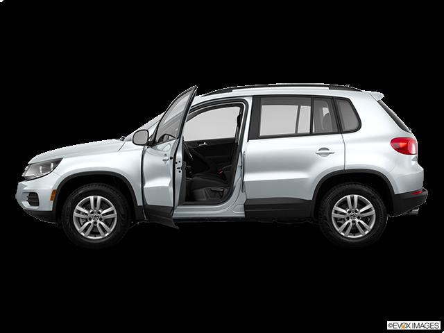 2015 Volkswagen Tiguan Driver's side profile with drivers side door open