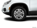 2015 Volkswagen Tiguan Front Drivers side wheel at profile