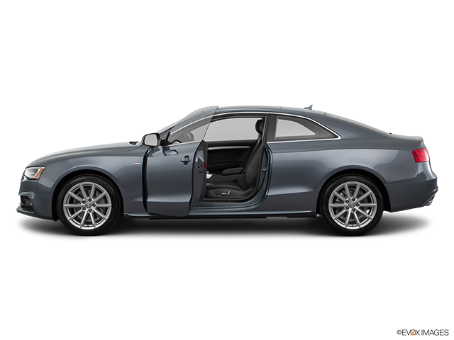 2016 Audi A5 Driver's side profile with drivers side door open