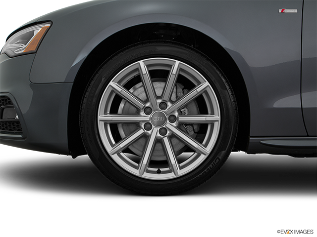 2016 Audi A5 Front Drivers side wheel at profile