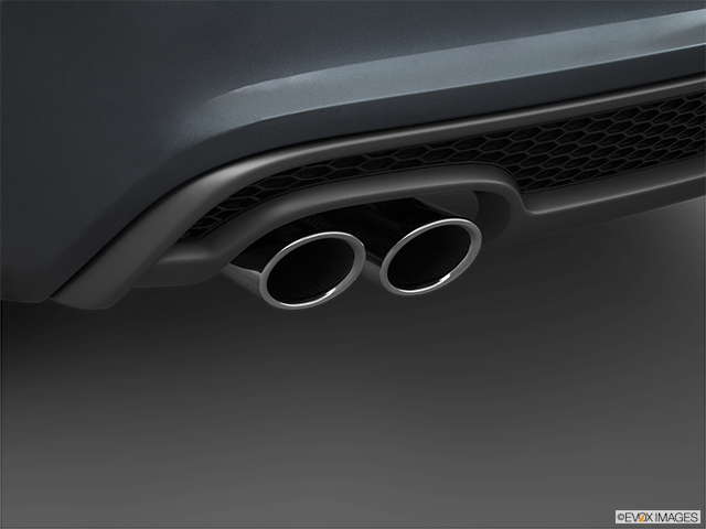 2016 Audi A5 Chrome tip exhaust pipe