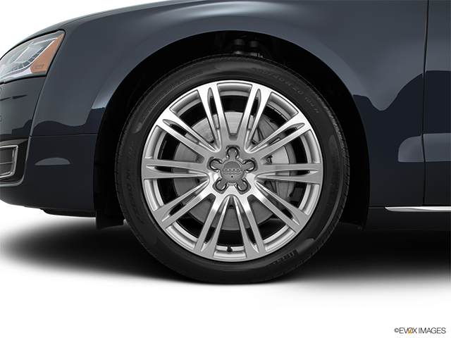 2016 Audi A8 L Front Drivers side wheel at profile