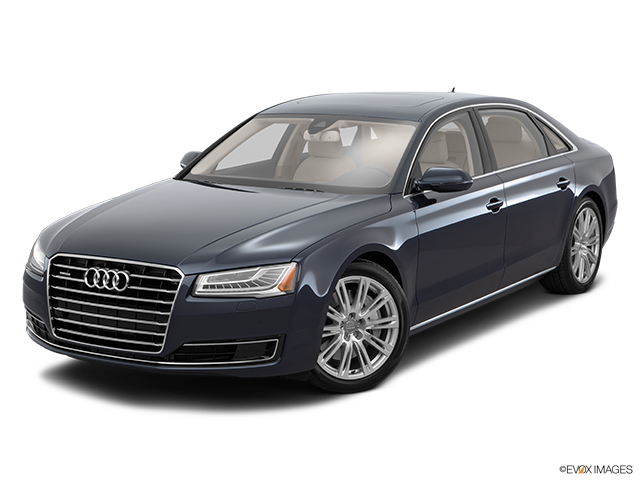 2016 Audi A8 L Front angle view