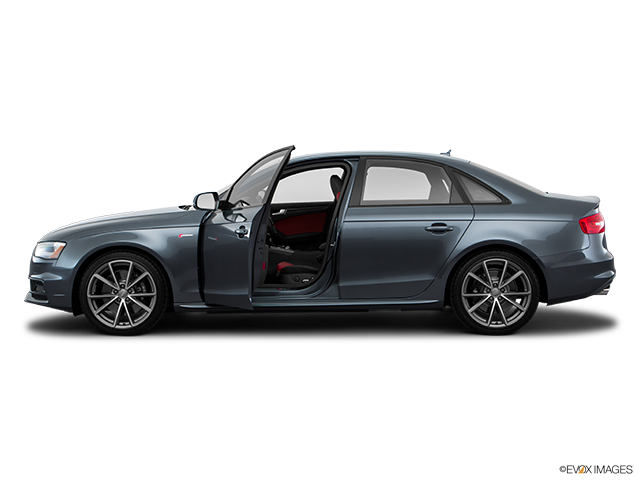 2016 Audi S4 Driver's side profile with drivers side door open