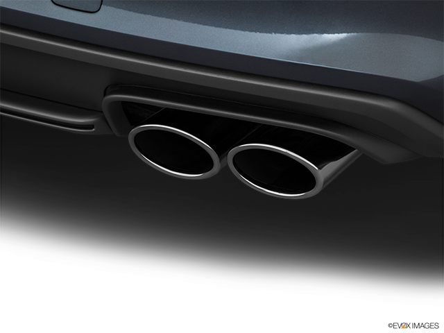 2016 Audi S4 Chrome tip exhaust pipe