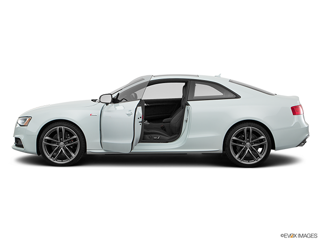 2016 Audi S5 Driver's side profile with drivers side door open