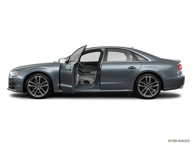 2016 Audi S8 Driver's side profile with drivers side door open