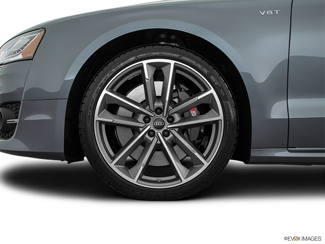 2016 Audi S8 Front Drivers side wheel at profile
