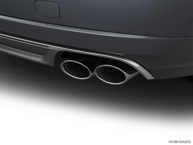 2016 Audi S8 Chrome tip exhaust pipe