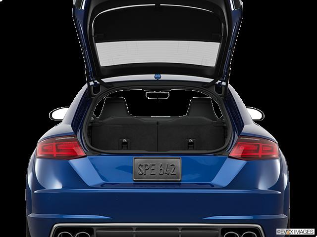 2016 Audi TTS Trunk open