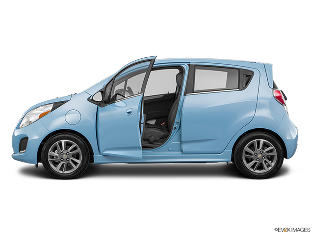 2016 Chevrolet Spark EV Driver's side profile with drivers side door open