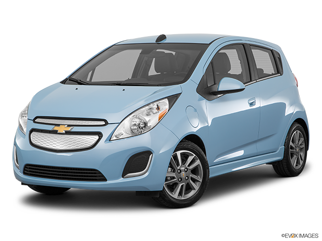 2016 Chevrolet Spark EV Front angle medium view