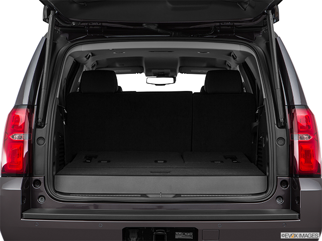 2016 Chevrolet Tahoe Trunk open
