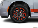 2016 FIAT 500e Front Drivers side wheel at profile