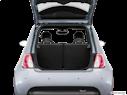 2016 FIAT 500e Trunk open