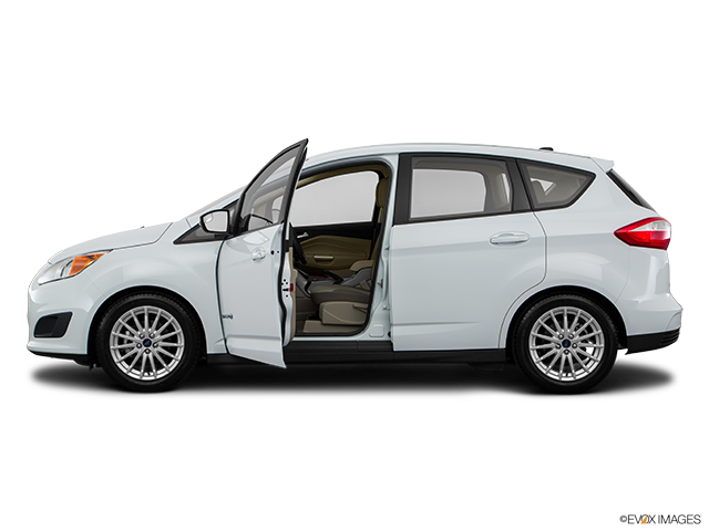 2016 Ford C-MAX Hybrid Driver's side profile with drivers side door open