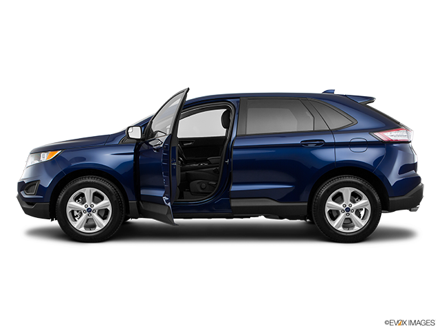 2016 Ford Edge Driver's side profile with drivers side door open