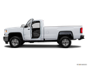 2016 GMC Sierra 2500HD Driver's side profile with drivers side door open