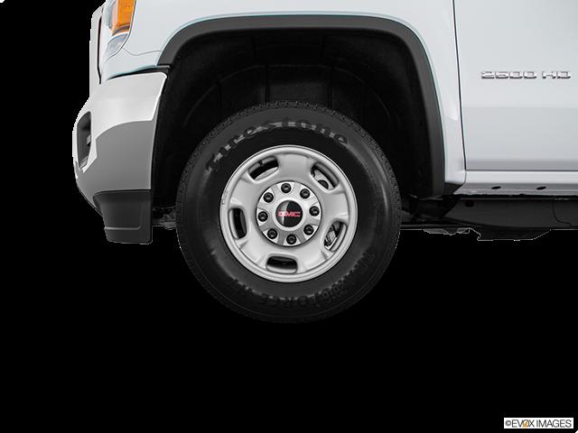 2016 GMC Sierra 2500HD Front Drivers side wheel at profile
