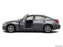 2016 INFINITI Q50 Driver's side profile with drivers side door open