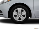 2016 Kia Forte Front Drivers side wheel at profile