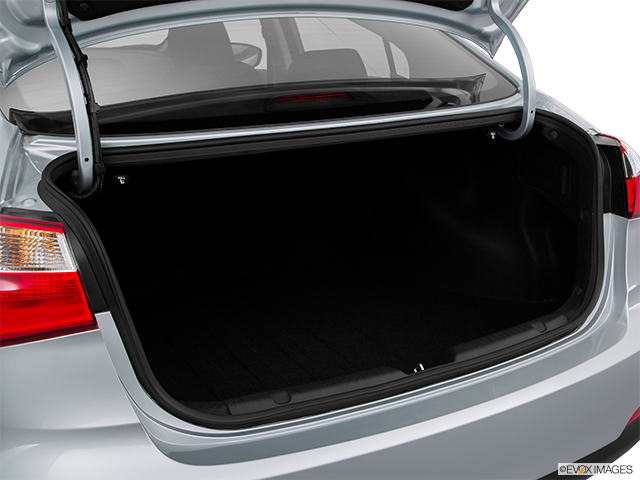 2016 Kia Forte Trunk open
