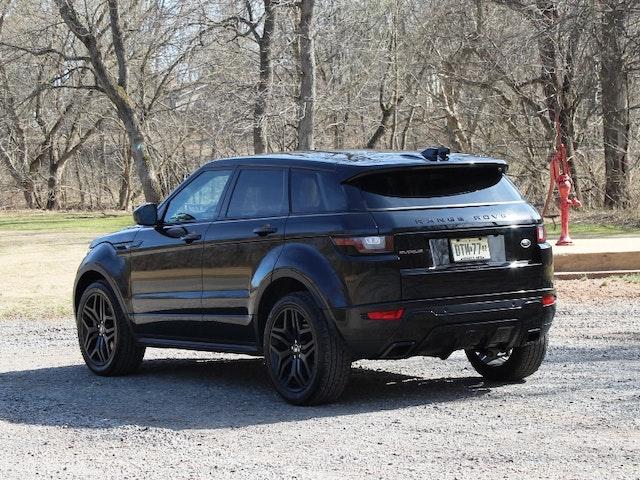 2016 Land Rover Range Rover Evoque Exterior