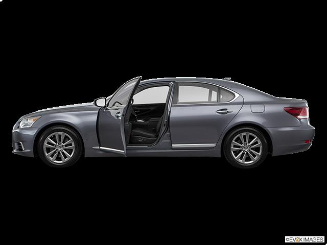 2016 Lexus LS 460 Driver's side profile with drivers side door open