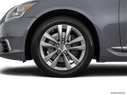 2016 Lexus LS 460 Front Drivers side wheel at profile