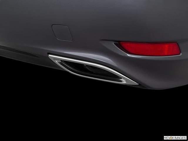 2016 Lexus LS 460 Chrome tip exhaust pipe