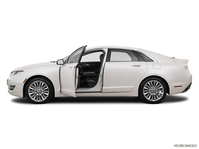 2016 Lincoln MKZ Driver's side profile with drivers side door open
