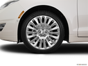 2016 Lincoln MKZ Front Drivers side wheel at profile