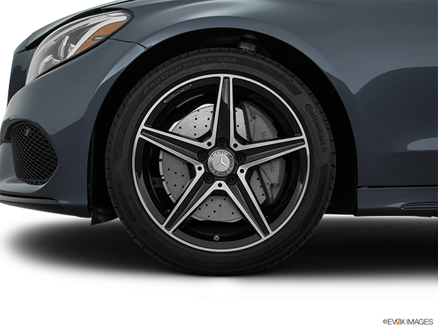 2016 Mercedes-Benz C-Class Front Drivers side wheel at profile