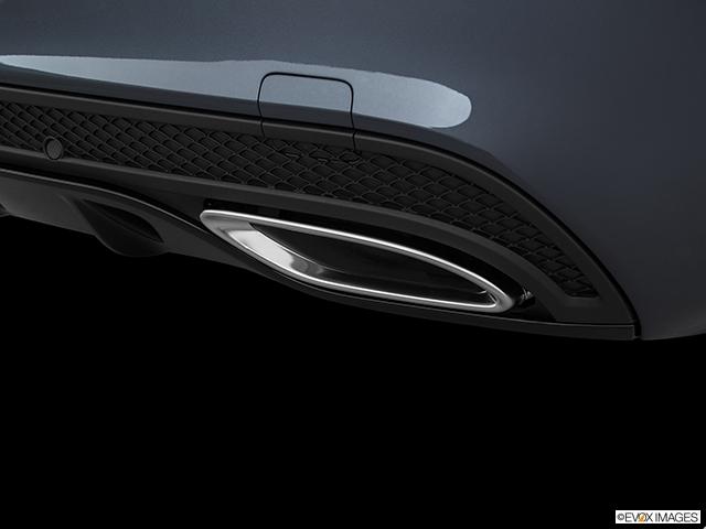 2016 Mercedes-Benz C-Class Chrome tip exhaust pipe
