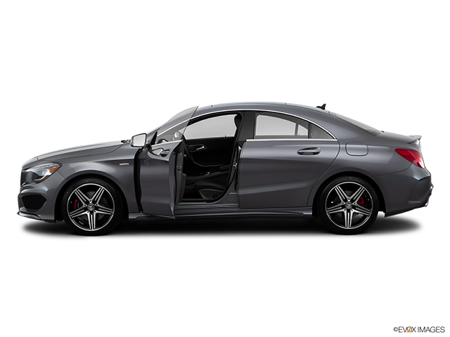 2016 Mercedes-Benz CLA Driver's side profile with drivers side door open