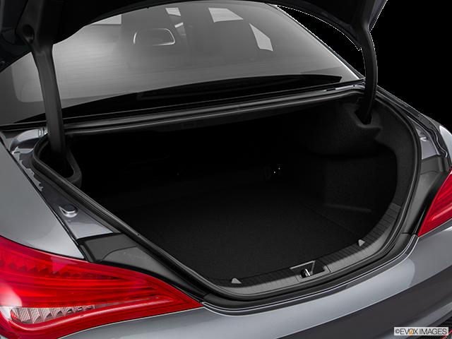2016 Mercedes-Benz CLA Trunk open