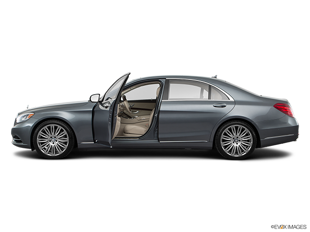 2016 Mercedes-Benz S-Class Driver's side profile with drivers side door open
