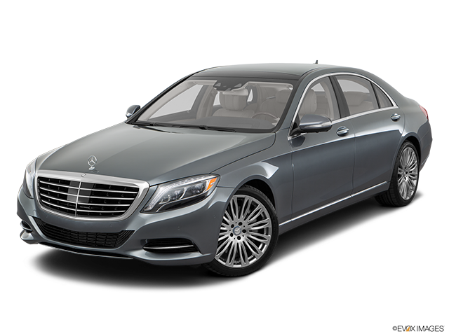 2016 Mercedes-Benz S-Class Front angle view